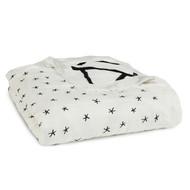 aden + anais Silky Softdream Bamboo Blanket - Midnight Etoile