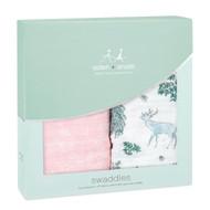 aden + anais cotton baby muslin wrap: Forest Fantasy