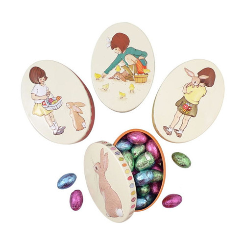 Belle & Boo Oval Easter Tins