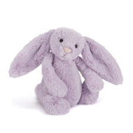 Jellycat Bashful Bunny Toy - Hyacinth Medium