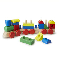 Wooden Stacking Train - Educational Toys