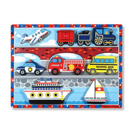 Chunky Puzzle - Vehicles - Cars, Train, Plane, Boat