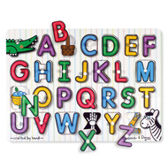 Melissa & Doug See Inside Alphabet Peg Puzzle