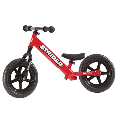 "STRIDER Classic 12"" Balance Bike - Red"