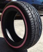 (4) new 205/55R16 radar rpx-900 91v (pink sidewall) 205 55 16 2055516 pink wall