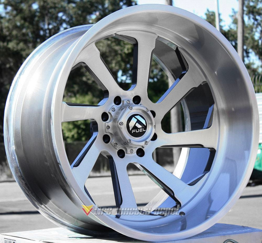 26 Inch 4 Wheels 26x14 Fuel Forged Ffc39 With 42 Tires 8x170 Excursion F250 F350 Tire Wheels Depot