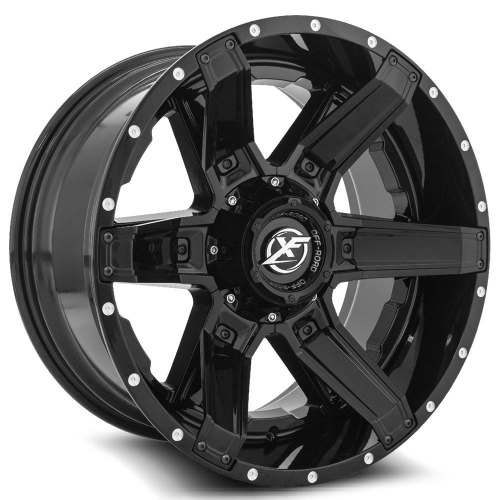 20 Inch Xf Off Road Xf214 All Black Wheels And 33 Tires 6x5 5 Fits 6 Lug Avalanche Escalade Suburban Sierra Silverado Tahoe Yukon