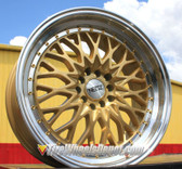 "20"" INCH NEOZ 5017 GOLD MACHINE LIP WHEELS AND TIRES FITS 5 LUG ACCORD LEXUS CAMRY ALTIMA MAXIMA HIGH OFFSET MONTE CARLO IMPALA 5X4.5 5X114.3"