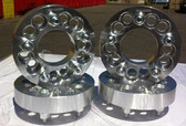 SET OF WHEEL RIM BILLET SPACERS ADAPTERS 5X4.5 TO 5X4.5