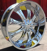 """28"""" INCH RS33 RIMS + TIRES EXPLORER RANGEROVER CHARGER AVIATOR CROWN VIC MARQUIS"""