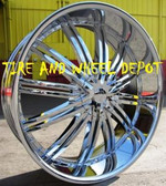28 INCH RSW99 RIMS WHEELS AND TIRES AVALANCHE NAVIGATOR MARK LT YUKON DENALI