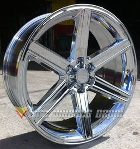 28 Inch Iroc Rims Wheels And Tires 6x139720 Tahoe Escalade
