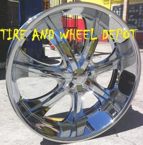 28 Inch 725 Rims And Tires Navigator F150 Expedition Ram 1500 Free