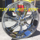 28 INCH 725 RIMS AND TIRES ALL DODGE RAM 1500'S 5X139.7 NAVIGATOR F-150 5X135