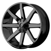 26 INCH KMC SLIDE BLACK RIMS AND TIRES 03-05 ASTRO SAFARI 02-12 AVALANCHE YUKON
