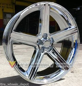 26 INCH IROC RIMS AND TIRES MONTE CARLO CUTLASS IMPALA EL CAMINO CHEVELLE REGAL