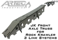 ARTEC JK Front Axle Truss for Rock Krawler 3 Link Systems