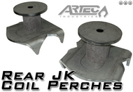 ARTEC Rear JK Coil Perches and retainers (pair)