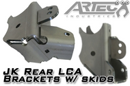 ARTEC JK Rear LCA Brackets with Skids