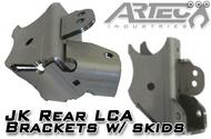 ARTEC JK Rear LCA Brackets with Skids