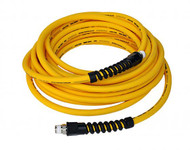 Air Hose 30 Foot Straight Ultraflex 1/4 Inch NPT Male Thread Yellow Power Tank