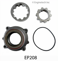ENGINETECH 7.3L PREMIUM LOW PRESSURE OIL PUMP & COVER KIT - EP208