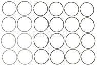 MAHLE Original 6.7L Piston Ring Set - 42168 (set)
