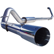 "1999-2003 FORD 7.3L POWERSTROKE MBRP 4"" PRO SERIES TURBO-BACK EXHAUST SYSTEM S6200304"