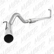 "2003-2007 FORD 6.0L POWERSTROKE MBRP 4"" PERFORMANCE SERIES TURBO-BACK EXHAUST SYSTEM S6212P"