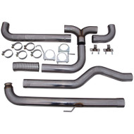 """2001-2007 GM 6.6L DURAMAX MBRP 4"""" XP SERIES DOWNPIPE-BACK DUAL EXHAUST STACK SYSTEM S8000409"""