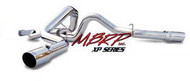 "2006-2007 GM 6.6L DURAMAX MBRP 4"" DUAL XP SERIES CAT-BACK EXHAUST SYSTEM S6014409"