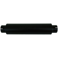 """UNIVERSAL - 4"""" INLET/OUTLET, 30"""" OVERALL MBRP BLACK SERIES MUFFLER M2029BLK"""