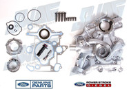 6.0L OEM FRONT ENGINE COVER KIT - LATE BUILD