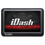 "2001-2007 GM 6.6L DURAMAX | 2003-2005 DODGE 5.9L CUMMINS | 1999-2004 FORD 7.3L/6.0L POWERSTROKE BANKS POWER 61213 5"" IDASH DIGITAL GAUGE"