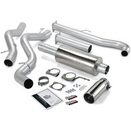 2001-2005 GM 6.6L DURAMAX LB7/LLY BANKS POWER SINGLE MONSTER EXHAUST SYSTEM