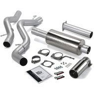 2006-2007 GM 6.6L DURAMAX LLY/LBZ BANKS POWER SINGLE MONSTER EXHAUST SYSTEM (DURAMAX LLY/LBZ)