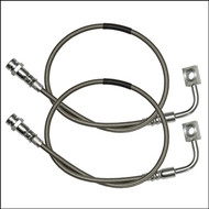 ROCK KRAWLER Front Long Travel Stainless Brake Lines