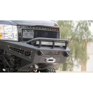 2007.5-2010 CHEVY SILVERADO 2500HD/3500HD (WINCH BUMPER) / ADD F317345000103 HONEY BADGER FRONT WINCH BUMPER