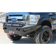 2011-2014 FORD F-250/350 SUPER DUTY (WINCH BUMPER) / ADD F067345000103 HONEY BADGER FRONT WINCH BUMPER
