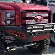 2011-2014 FORD F-250/350 SUPER DUTY (NON-WINCH BUMPER) / ADD F067305000103 HONEY BADGER FRONT BUMPER