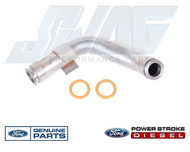 6.0L OEM UPDATED TURBO OIL DRAIN TUBE