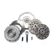 2008-2010 FORD 6.4L POWERSTROKE 6-SPEED (550HP & 1100 FT-LBS.) / SOUTH BEND SFDD3250-64-ORG ORGANIC STREET DUAL DISC CLUTCH
