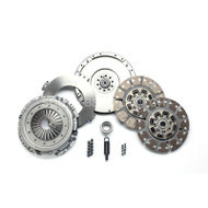 1999-2003 FORD 7.3L POWERSTROKE 6-SPEED (550HP & 1100 FT-LBS.) / SOUTH BEND SFDD3250-6-ORG ORGANIC STREET DUAL DISC CLUTCH