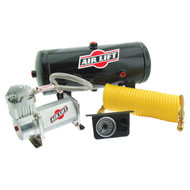 FITS ALL BRANDS OF HELPER SPRINGS - CONTROL TWO AIR SPRINGS TOGETHER / AIR LIFT 25690 SINGLE QUICKSHOT COMPRESSOR SYSTEM
