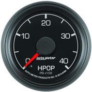 Auto Meter 2696 Z-Series 2-1//16 Full Sweep Electric Diesel HPOP Pressure