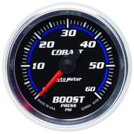 Auto Meter Cobalt Series Boost Gauge 6170 0-60 Psi