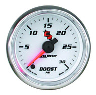 Auto Meter C2 Series Boost Gauge 7160 0 - 30 Psi