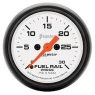 Auto Meter Phantom Fuel Rail Pressure Gauge For 03-07.5 Dodge Cummins *