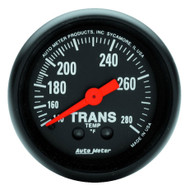 Auto Meter 2615 Z-series Transmission Temperature Gauge 140-280 F