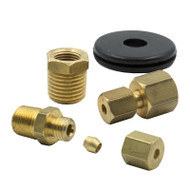 "AUTO METER 3290 1/8"" COMPRESSION FITTING KIT UNIVERSAL - 1/8"" NPT"